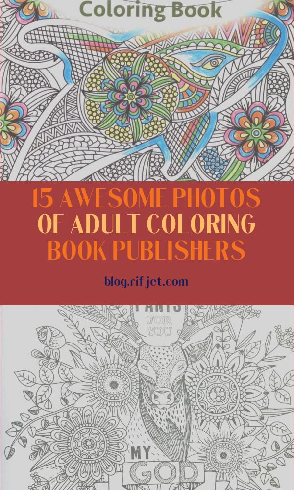Adult Coloring Book Publishers Unique Photos Kappa Books Publishers Designer Series Water World Adult