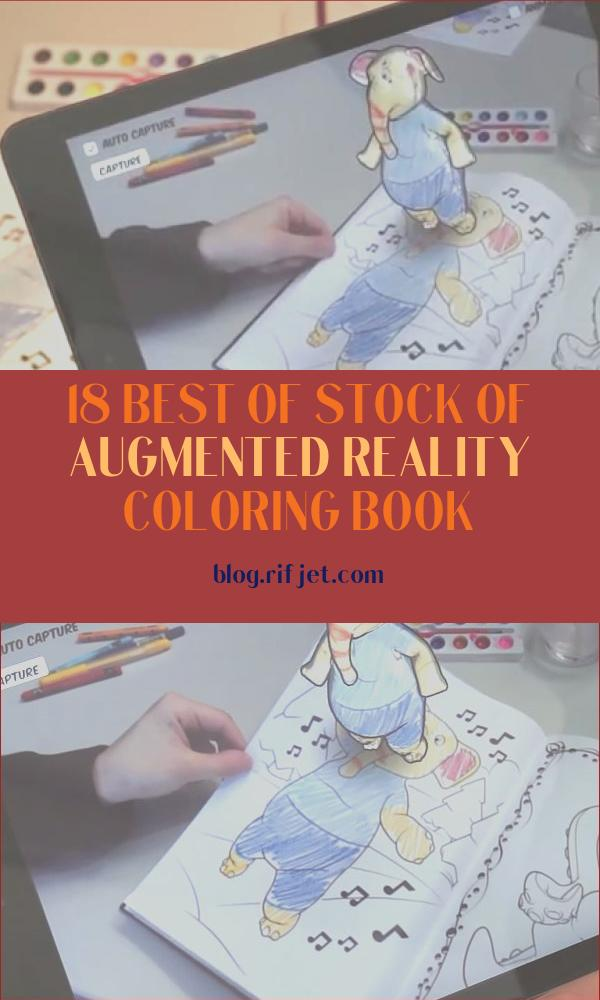 Augmented Reality Coloring Book Beautiful Gallery Augmented Reality Coloring Book On Non Planar Pages