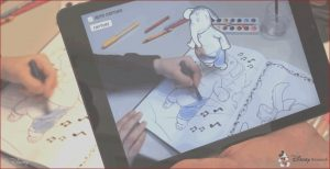 Augmented Reality Coloring Book Beautiful Images Disney S Augmented Reality Coloring Books Brings Creations