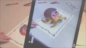 Augmented Reality Coloring Book Beautiful Photos Live Texturing Of Augmented Reality Characters From