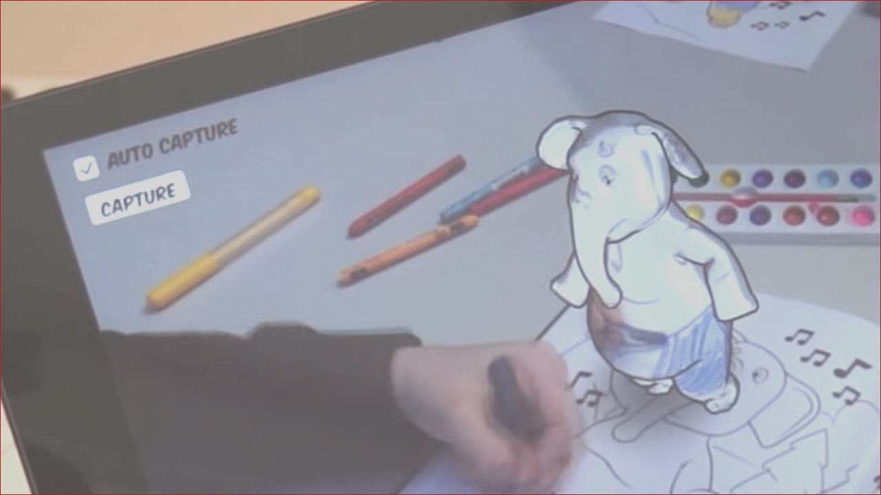 report disney research uses augmented reality to bring children s coloring books to 3d life
