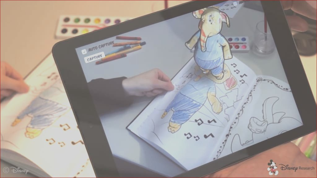 disneys amazing augmented reality coloring book