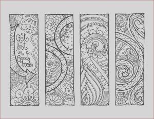 Bookmarks Coloring Awesome Photos Kpm Doodles Coloring Pages