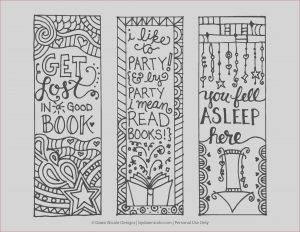 Bookmarks Coloring Beautiful Gallery Free Printable Coloring Page Bookmarks