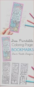 Bookmarks Coloring Luxury Collection Free Printable Coloring Page Bookmarks