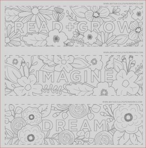 Bookmarks Coloring Luxury Images Free Printables Read Grow Coloring Bookmarks for Back