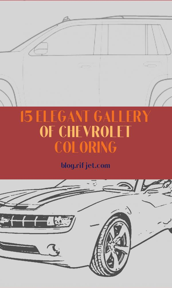 Chevrolet Coloring Cool Stock 2019 Chevrolet Coloring Pages are Fun for the Family