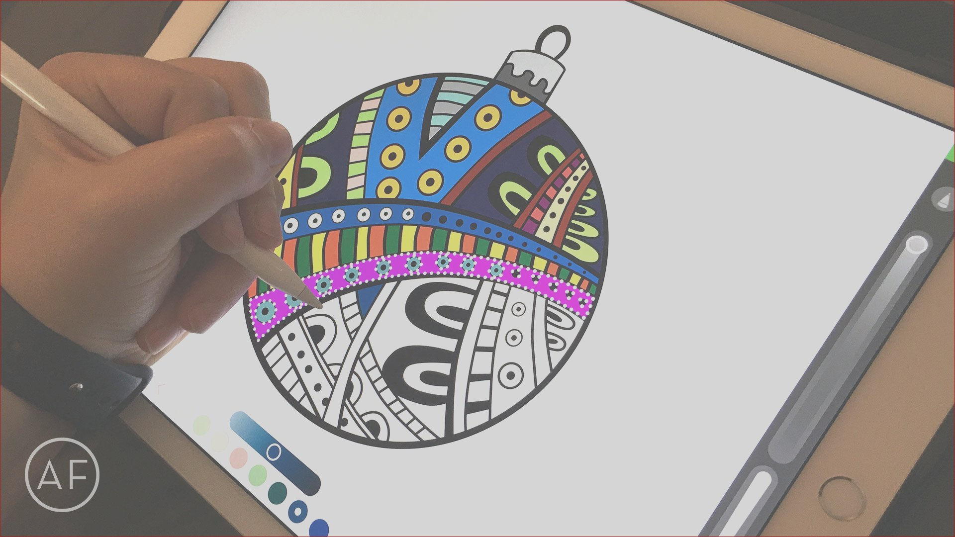 how to color on the ipad