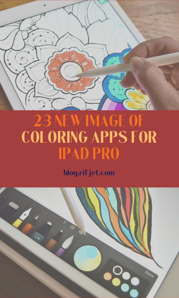 Coloring Apps for Ipad Pro Elegant Collection Best Coloring Books for Adults On Ipad In 2020