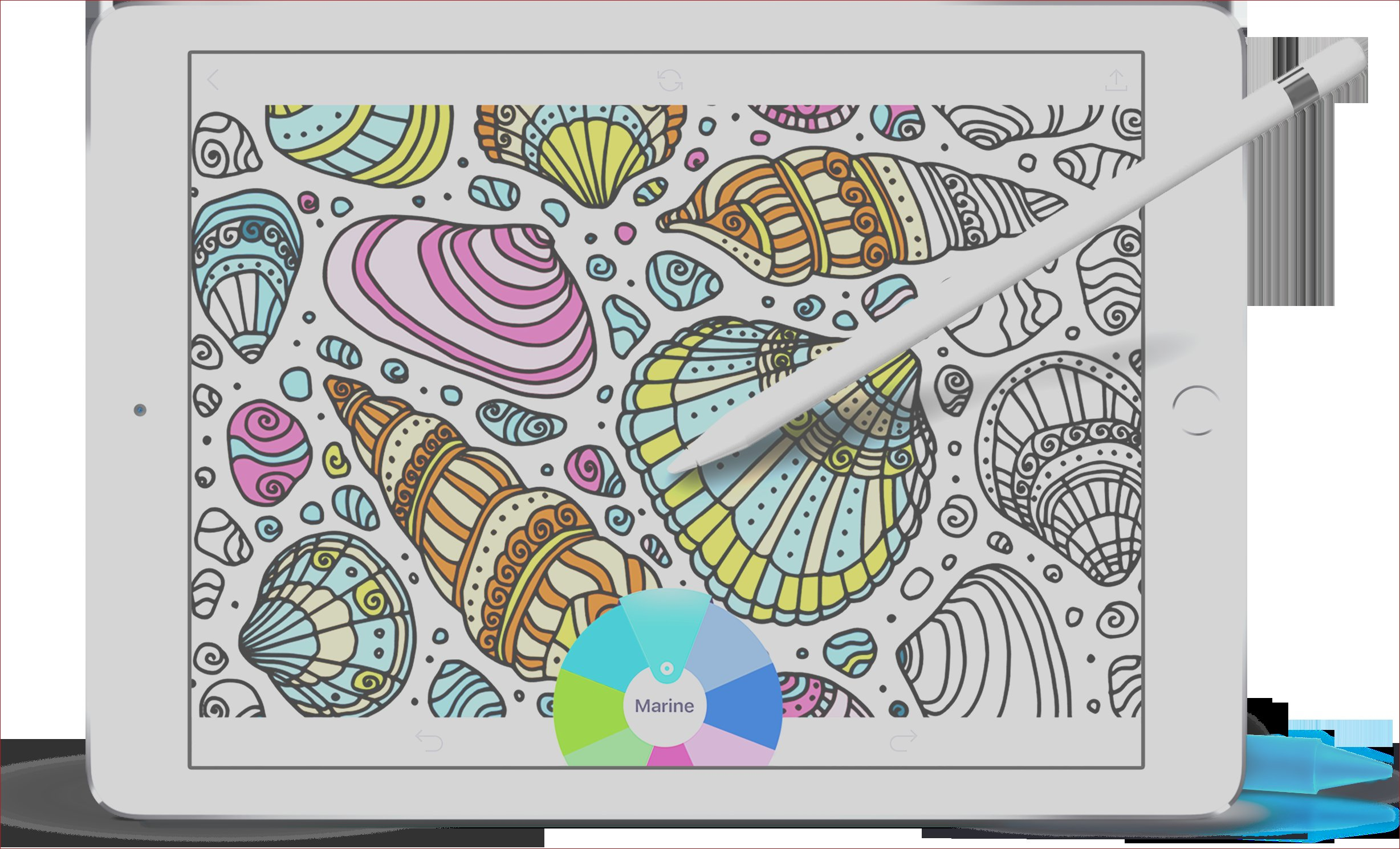 best coloring books for ipad pro