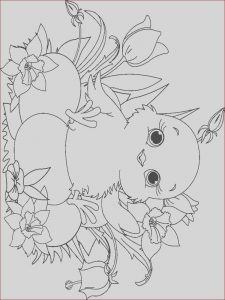 Coloring Baby Chickens Cool Photos Baby Chick Coloring Pages Download and Print Baby Chick