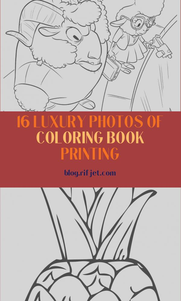 Coloring Book Printing Best Of Photos Zootopia Coloring Pages Best Coloring Pages for Kids