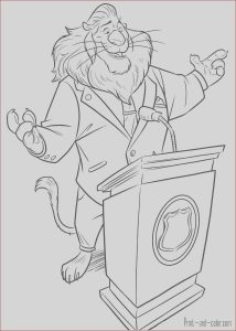 Coloring Book Printing Inspirational Gallery Zootopia Coloring Pages