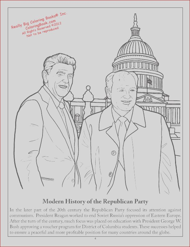 republican party coloring books