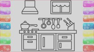 Coloring Book Publishing Companies Unique Collection Kitchen Coloring Page for Kids with Glitters Coloring