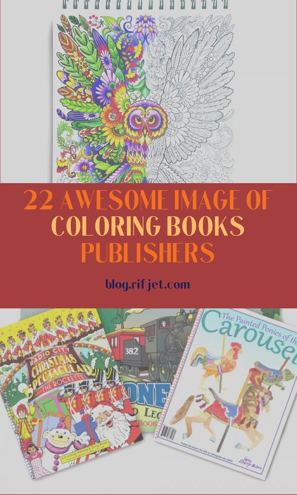 Coloring Books Publishers Elegant Images Best Adult Coloring Books Of 2020 – Embrace the Child
