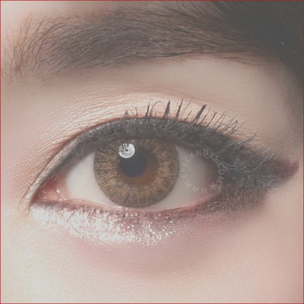 geo tri color brown colored contacts