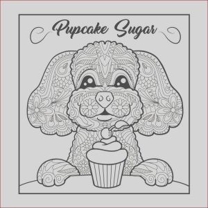 Coloring Contest for Adults Awesome Image Design An Adult Coloring Book Image for Pupcake Sugar