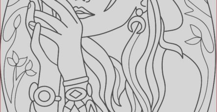 Coloring Gallery Elegant Gallery Coloring Page