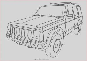 Coloring Jeep New Gallery Jeep Coloring Pages Kidsuki