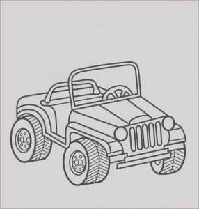 Coloring Jeep New Photos Jeep Coloring Page
