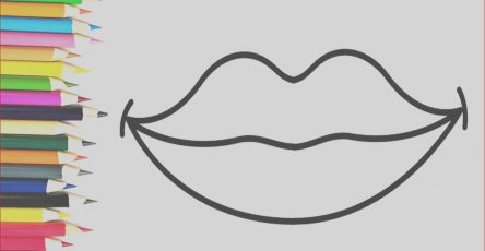 Coloring Lips Awesome Photos How to Draw Heart Lips Coloring Pages for Kids