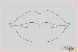 Coloring Lips Cool Image How to Draw Female Lips Drawingnow