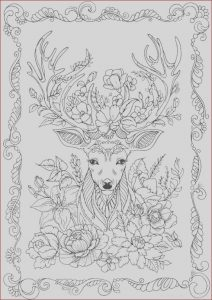 Coloring Pages Adult Free Best Of Image Fantasy Deer Printable Adult Coloring Page From Favoreads
