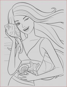 Coloring Pages Of Barbie Awesome Photography Barbie Coloring Pages Pdf Coloring Home