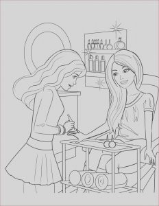 Coloring Pages Of Barbie Beautiful Image Free Printable Barbie Coloring Pages for Kids Barbie