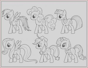 Coloring Pages Of My Little Pony Friendship is Magic Beautiful Collection Get This Easy Preschool Printable Of My Little Pony