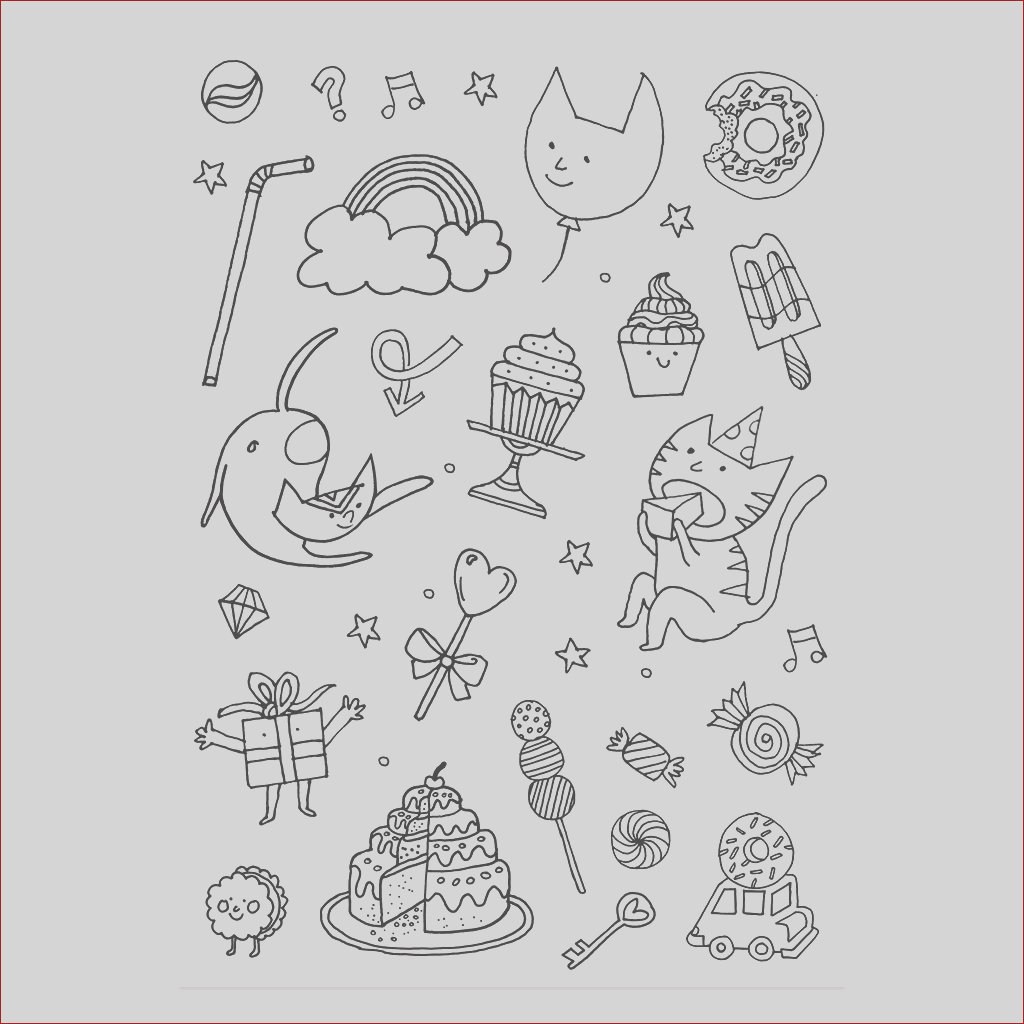 Color in Stickers Colouring activity Monsters and Insects Pattern x132 p