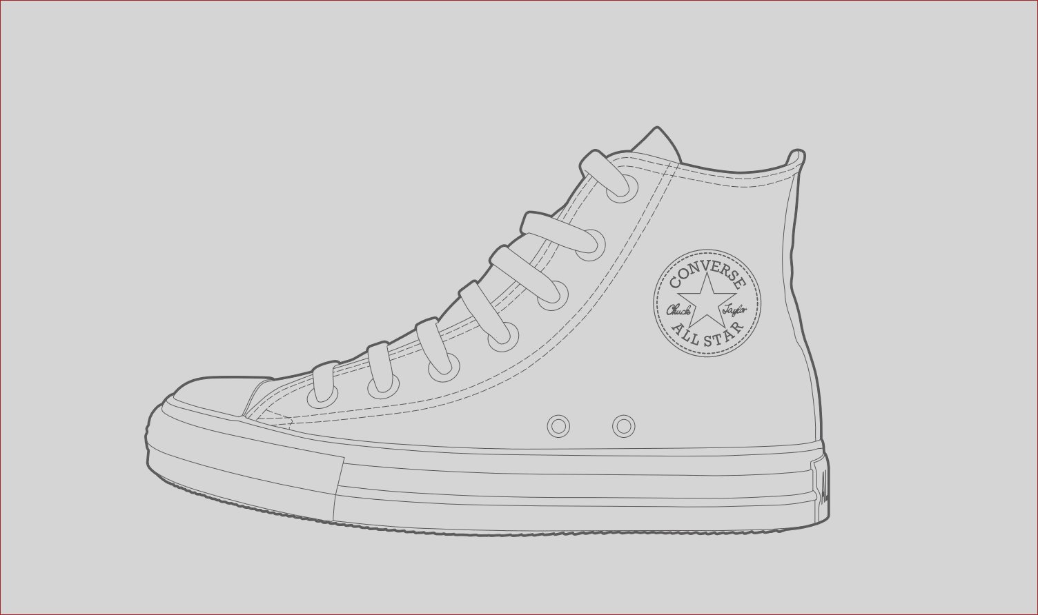 plimentary colors converse