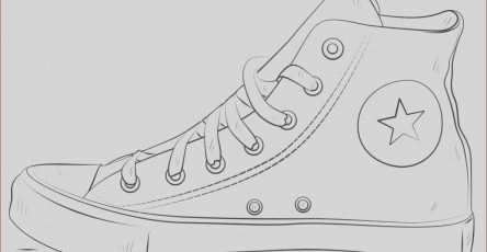 Converse Coloring Page Luxury Images Converse Shoes Coloring Page