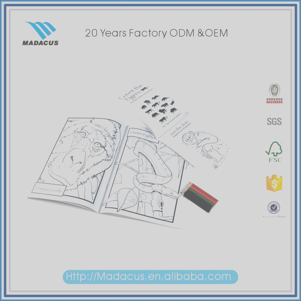 high quality factory supply custom coloring