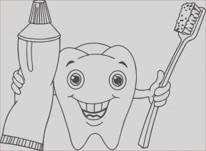 Dentist Coloring Pages Cool Collection Cartoon Dental Coloring Page