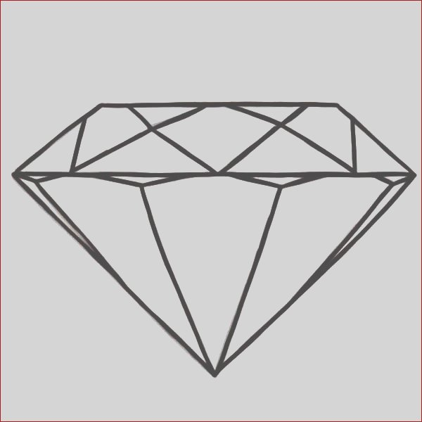 round diamond shape coloring pages