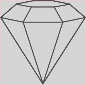 Diamond Coloring Cool Stock Diamond Shape Outline Coloring Pages Kids Play Color