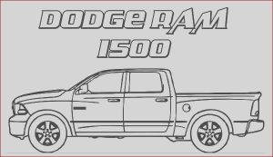 Dodge Ram Coloring Pages Awesome Stock Dodge Car Ram 1500 Trucks Coloring Pages Coloring Sky