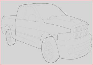 Dodge Ram Coloring Pages Beautiful Collection Dodge Truck Coloring Pages at Getcolorings