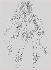 Final Fantasy Coloring Pages Awesome Photos Rikku Final Fantasy X by Shonemitsu On Deviantart