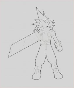Final Fantasy Coloring Pages Beautiful Collection Final Fantasy Free Coloring Pages