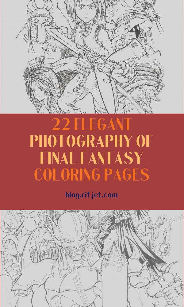 Final Fantasy Coloring Pages Beautiful Stock Full Time Playable Characters Of Final Fantasy Ix Coloring