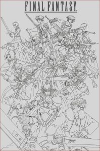 Final Fantasy Coloring Pages Luxury Stock Final Fantasy Heroes by Taresh On Deviantart