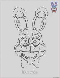 Fnaf Coloring Sheets Cool Images Bonnie Fnaf Free Colouring Pages