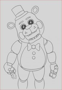 Fnaf Coloring Sheets Luxury Photos Free Printable Five Nights at Freddy S Fnaf Coloring Pages