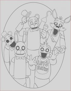 Fnaf Coloring Sheets New Photography Fnaf Coloring Pages 26
