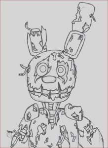 Fnaf Coloring Sheets Unique Photos Fnaf Printable Coloring Pages to Print