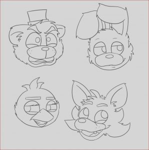 Fnaf Printable Coloring Pages Beautiful Image Fnaf Coloring Pages 6