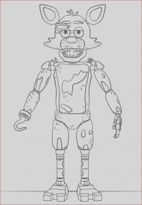 Fnaf Printable Coloring Pages New Photos Free Printable Five Nights at Freddy S Fnaf Coloring Pages